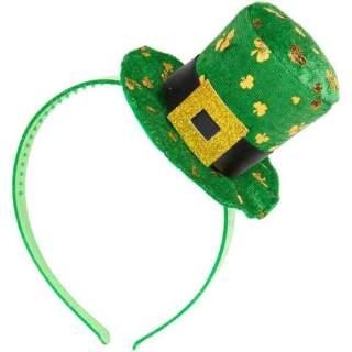 Serre-tête avec chapeau Saint Patrick
