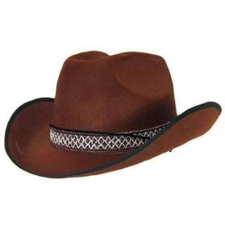 Chapeau cow-boy marron