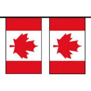 Guirlande Canada 20 pavillons 10m