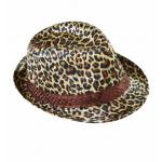 Chapeau feutre leopard