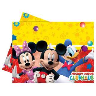 Nappe plastique Mickey Mouse club house