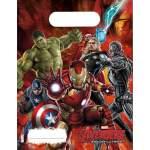 6 sachets anniversaire Avengers Age of Ultron