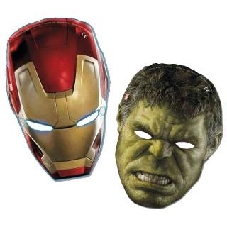 6 masques Avengers Age of Ultron