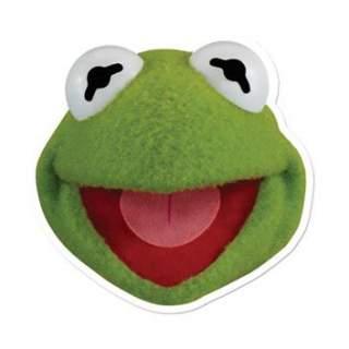 "Masque Kermit ""The Muppet Show"""