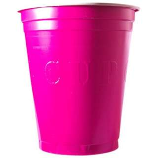20 gobelets roses Original Cup