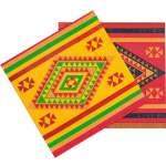12 serviettes fiesta Mexique
