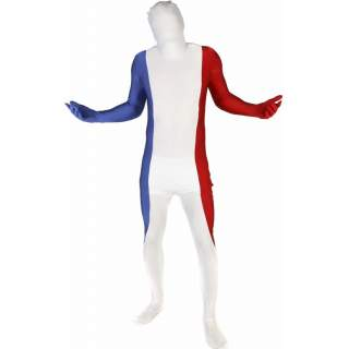 combinaison morphsuit tricolore bleu blanc rouge. Black Bedroom Furniture Sets. Home Design Ideas