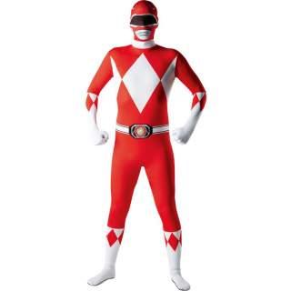 Combinaison seconde peau Power Rangers