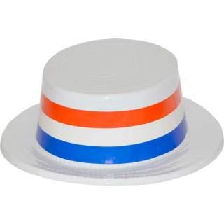 Canotier tricolore France