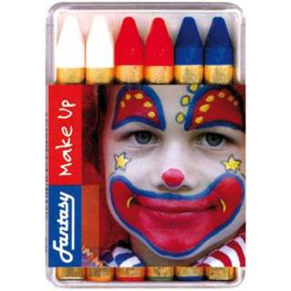 6 crayons maquillage France