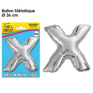 Ballon lettre X