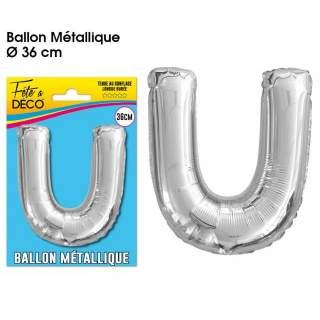 Ballon lettre U