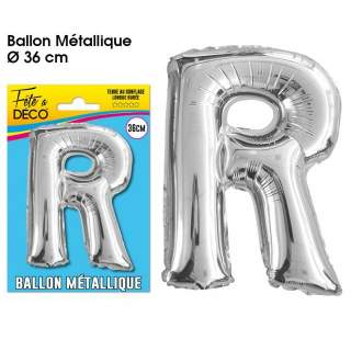 Ballon lettre R