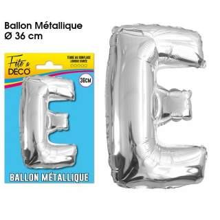 Ballon lettre E