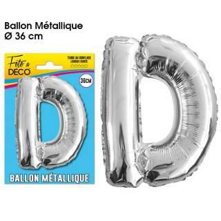 Ballon lettre D