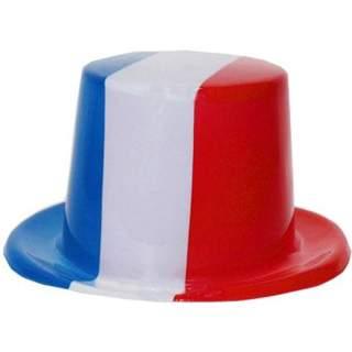 Haut de forme tricolore France