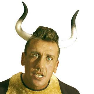 Serre-tête avec cornes de taureau