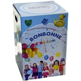 Bonbonne hélium 50 ballons