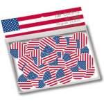 150 confettis de table USA