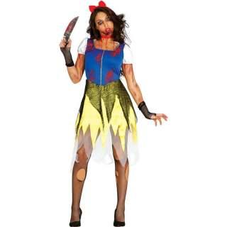 Déguisement princesse zombie