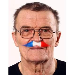 Moustache 19ème tricolore France