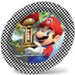 8 assiettes Mario Kart