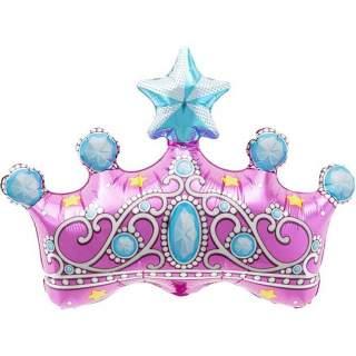 Ballon couronne de princesse