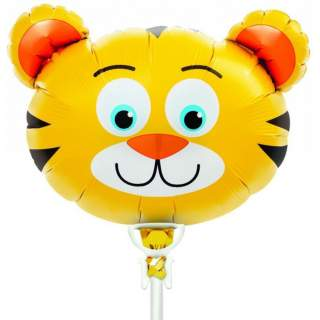 Ballon tête de tigre