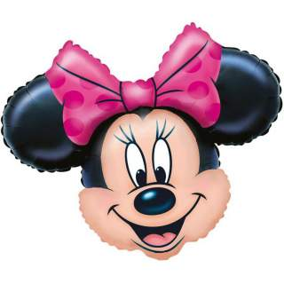 Ballon tête de Minnie