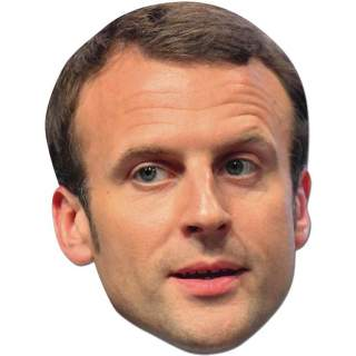 Masque Emmanuel Macron