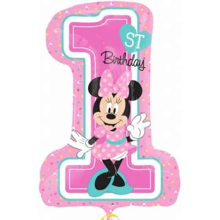 Ballon Minnie first birthday