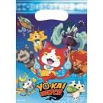 8 sachets anniversaire Yo-Kai Watch