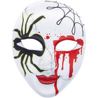 Masque araignée ensanglanté