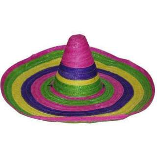 Sombrero mexicain multicolore