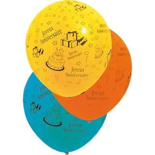 """Ballon """"Joyeux Anniversaire """" géant"""