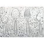 Sachet de 20 fourchettes cristal