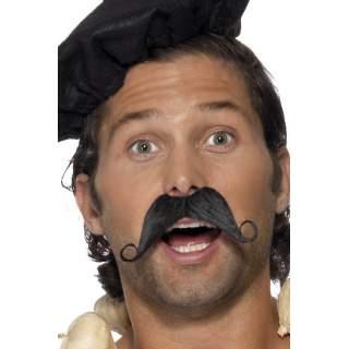 Moustache Française noire