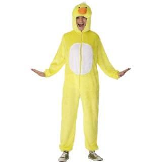 Déguisement peluche canari jaune