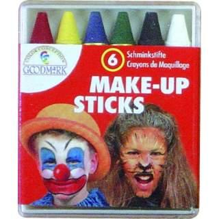 Boite de 6 crayons