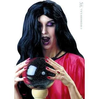 Perruque sorcière noire