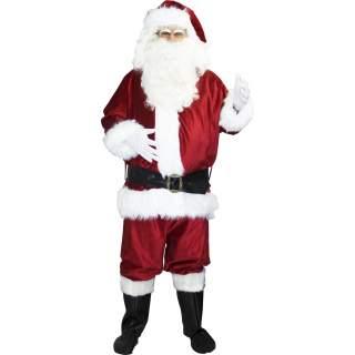 Déguisement de Père Noël US super luxe
