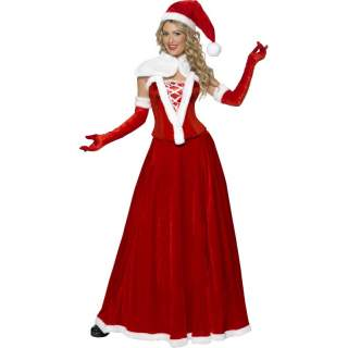 Miss Santa velours longue