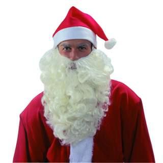 Barbe Père Noël luxe naturelle