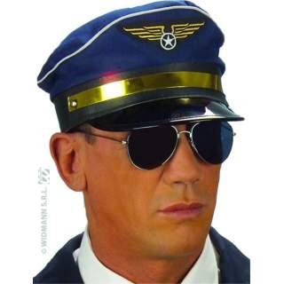 Casquette de pilote reglable