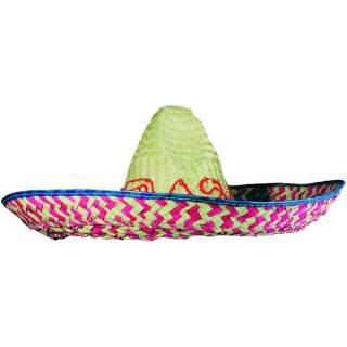 Sombrero méxicain paille