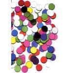 Confettis ronds couleurs
