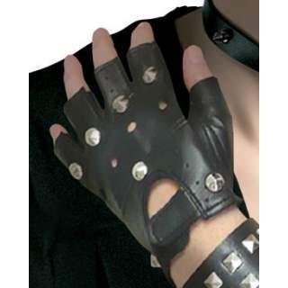 Paire de gants de punk