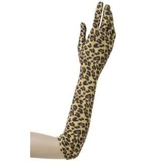 Gants léopard lycra