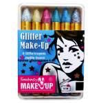6 crayons maquillage paillettés