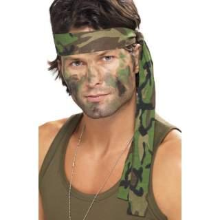 Bandeau camouflage militaire